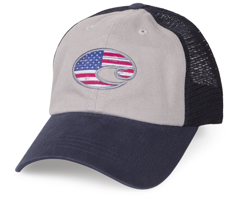 FREE Costa Del Mar United Trucker Hat